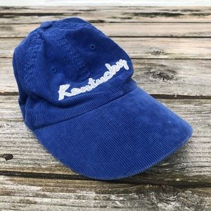 Nike Corduroy Kentucky UK cap hat women's